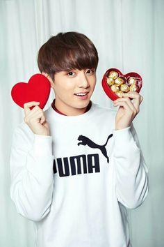 Valentine day #BTS #KOOKIE #JUNGKOOK