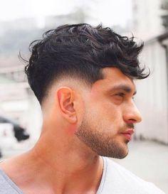 Teen Boy Hairstyles, Mens Hairstyles Fade, Hairstyles Haircuts, Haircuts For Men, Curly Hair Men, Curly Hair Styles, Toddler Haircuts, Men Hair Color, Faded Hair