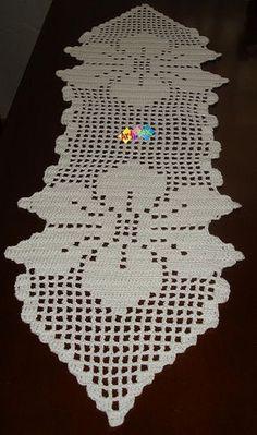 Crochet Doily Rug, Crochet Table Runner Pattern, Crochet Bedspread Pattern, Crochet Shawl Free, Crochet Doily Diagram, Crochet Edging Patterns, Crochet Tablecloth, Crochet Home, Crochet Decoration