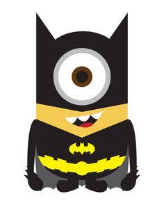 Despicable Me 2 Batman Minion