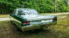 '68 Plymouth Fury retired NYPD car - Taken at the 7th annual Fallen Officer Memorial Ride held in Dorchester County, MD.
