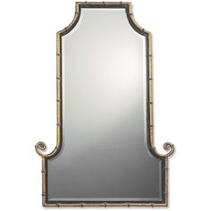 Himalaya spotted gold iron framed mirror, $327.80