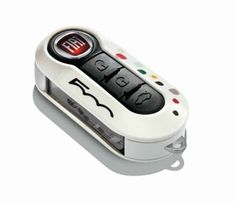 Add a touch of flair to your Fiat car key with this replacement key cover; Note: Single key cover - Pastel white with coloured dots. Fiat 500 Accessories, Car Parts And Accessories, Fiat 500 Parts, Fiat 500 Turbo, Fiat 500 Pop, Fiat 500l, Fiat Cars, Key Covers, Flat Shapes