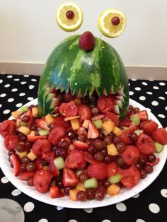 Monster-themed Baby Shower: Watermelon Monster