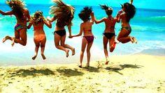 ♥ Steinmeyer and Wachowski. were going to take pictures on the beach, soon! Pink Summer, Summer Of Love, Summer Girls, Summer Beach, Girls Fun, Maria B, Summer Nights, Summer Time, Fun Time