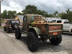 The Bootlegger - Daystar Products - the 1941 Dodge Power Wagon visiting the Jack Daniel Distillery