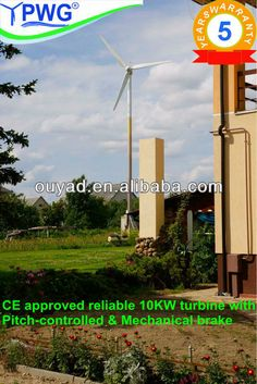 10kw wind turbine permanent magnet generator $4230~$6150 Magnetic Generator, Motor Generator, Wind Power, Alternative Energy, Wind Turbine, Exterior, Outdoor Rooms