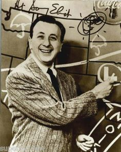 Sonny Eliot -- the best Detroit weatherman ever! I loved the squeaky pffft noise he made when he gave a temperature in the Keewenaw and the fun he had with the town of Engadine.