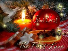 JESUS CHRIST IS MY FIRST LOVE, HALLELUJAH!!!