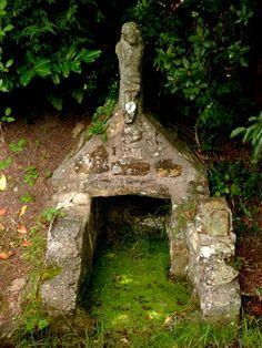 La fontaine de Kersimon en Lanvéoc