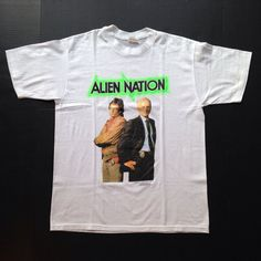 Vintage 1990 Alien Nation tv show t-shirt, medium