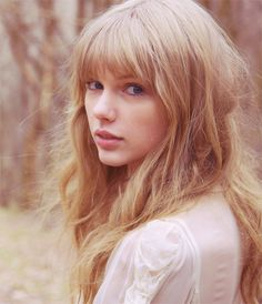 Taylor Swift, and her bangs.