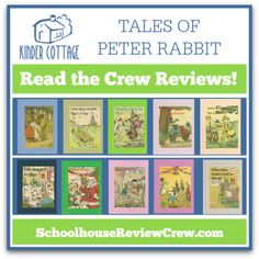 The Crew is excited to introduce you to Kinder Cottage Publishing -- take a peek at the reviews of these adorable Peter Rabbit books -- adaptations of the original works written by Duff Graham for the Henry Altemus Company in the early 1900s.   #homeschool #hsreviews