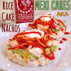 """organic brown rice cakes 🙌Topped with mashed avocado 🙌baked """"pul. Rice Cake Recipes, Sheet Cake Recipes, Rice Cakes, Healthy Eating Recipes, Healthy Food, Healthy Meals, Air Fryer Recipes Keto, Cheese Rice, Savory Rice"""