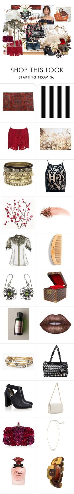 """""""Cat Lady: Queens of Fashion"""" by lisastarflower ❤ liked on Polyvore featuring Masquerade, Graham & Brown, Daytrip, S.W.O.R.D., Sans Souci, Cost Plus World Market, NARS Cosmetics, RED Valentino, NOVICA and Louis Vuitton"""