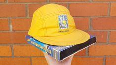 ffded8936414e 90s Yellow Cap Vintage 5 Panel Hat Snap Back Baseball Cap Grunge Hipster  Basic Streetwear Fresh Prince Hip Hop Skate Party Festival Retro