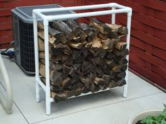 Small Firewood Storage Rack in Home Improvement/Workshop Projects Forum