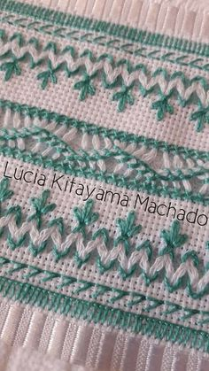 Asuman Karagöz's media content and analytics Embroidery Stitches Tutorial, Embroidery Patterns, Swedish Weaving Patterns, Sew Together Bag, Bargello Needlepoint, Drawn Thread, Baby Afghan Crochet, Hardanger Embroidery, Wallet Pattern