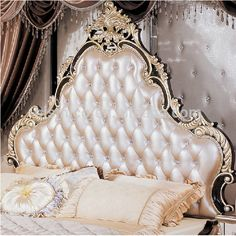 French Style New Classical Luxury Leather Doule Bed Photo, Detailed about French Style New Classical Luxury Leather Doule Bed Picture on Alibaba.com.