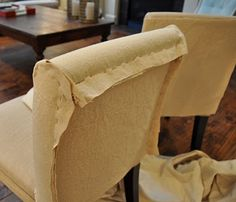drop cloth slipcover - Isabella & Max Rooms: Making Drop Cloth Slipcovers...