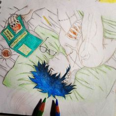 manga #draw #drawing #mydrawing #manga #mangadrawing #mangaboy #tattoo #anime #animedrawing #animeartist #myanime #instadraw #art #artist #mangaart #mangalover #mangaka #comic #mycomic #fanmanga #book #medicine #cama #bed #goodnight #happydreams #illustration #colorful #piercing #bluehair