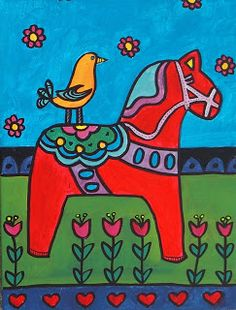 So very excited to share a new lesson. I feel like I haven't been doing enough folk art with my students and that is something I hope to cha...