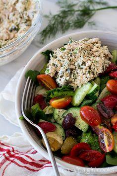 Whole30 Greek Tuna Salad Recipe   Carolina Girl Cooks