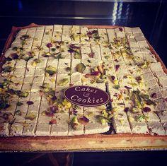 Meet our new Lebanese treat! #cakesandcookieslb #halewe #tarte #cake #cookie #cookies #dessert #delicious #tartes #tasty #sugarart #sweet #foodie #Lebanon #Beirut
