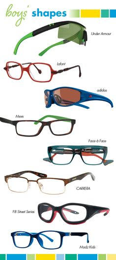 Traditional rectangles with Clubmaster- and aviator-inspired bridges, sporty wraparounds and shields, funky squares