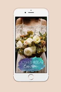 Custom Wedding Snapchat Filter Filter Design, Snapchat Filters, Wedding, Valentines Day Weddings, Weddings, Marriage, Chartreuse Wedding