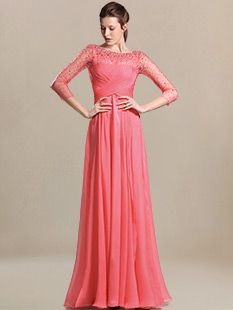 wedding guest dresses_Coral