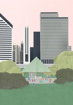 Chicago Architecture Biennial Announces Lakefront Kiosk Winners,Courtesy of The Chicago Architecture Biennial