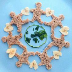 оформление еды для детей