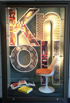 The Chelsea Collection: Window display from Knoll NYC Showroom