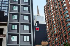 where style and affordability get it on together. #citizenMnyc #Design #Eames #Vitra #citizenM #NYC #InteriorDesign http://www.citizenm.com/destinations/new-york/new-york-times-square-hotel