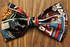 Comic book bow tie   Keywords: #superheroweddings #jevelweddingplanning Follow Us: www.jevelweddingplanning.com  www.facebook.com/jevelweddingplanning/
