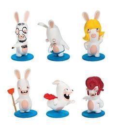 Nickelodeon Rabbids Invasion Series One 2 Inch Figure
