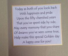 Anniversary Verses, Ruby Wedding Anniversary Gifts, 50th Anniversary Cards, Parents Anniversary, Golden Anniversary, Anniversary Decorations, Anniversary Message, Diamond Anniversary, Verses For Cards