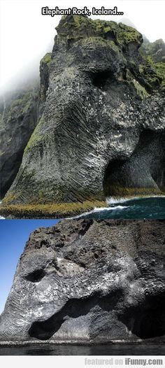 Elephant Rock, Iceland...