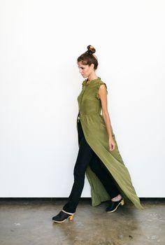 Nico Maxi Dress - Army
