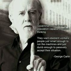 George Carlin spreading TRUTH