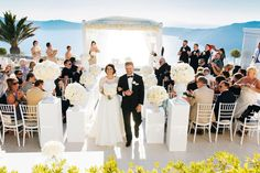Le Ciel Weddings & Events in Santorini. Nestled at the highest point of Santorini's spectacular caldera cliffs, the endless blue and seductive sunsets create the idyllic setting to host your we…