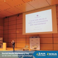 Alcuni scatti della seconda parte di sessioni di #SMMdayIT 2016 #follow #socialteam #social #socialmedia #webmarketing #digitalcommunication #digital