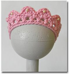 Cai's Birthday Tiara pattern by Carrie Piper  10 free patterns