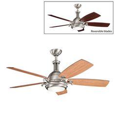 Kichler Lighting 300135 52-in Saint Andrews Ceiling Fan