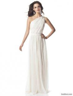 Романтический экзотический наряд - свадебные платья в греческом стиле