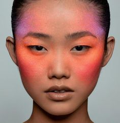 Zing Makeup Ad Campaign, Model: Liu Dan, Photographer: Leslie Kee