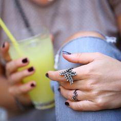 Stilini yenile. #khailo #khailosilver #khailostyle #ring #style #gümüş #yüzük #moda #modern #kadın