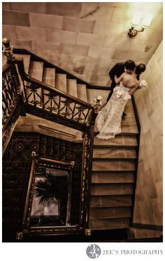 Stunning wedding at the Davenport Hotel - 2ee's Photography