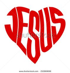 """""""word Jesus"""" Images, Stock Photos & Vectors - vector art graphic depicting the word: JESUS in the shape of a heart – stock vector - Christian Art, Christian Quotes, Bible Quotes, Bible Verses, Jesus Drawings, Bible Verse Canvas, Jesus Wallpaper, Jesus Art, Graffiti Lettering"""